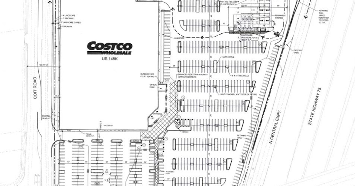 First Look At Dallas First Costco Store On North Central - Costco us locations map
