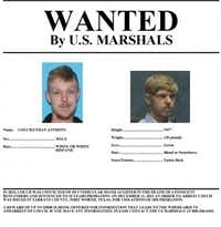The U.S. Marshals released this wanted poster Friday. (U.S. Marshals)