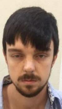A mug shot taken shortly after Ethan Couch's arrest in Mexico shows he dyed his hair and beard.