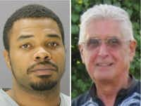 Christopher Beachum (left) is accused of killing Gerald Canepa.