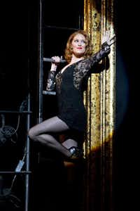 Dylis Croman, class of 1995, stars as Roxie in Chicago.( Jeremy Daniel )