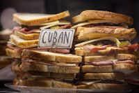 Cuban sandwich at Royal Blue Grocery