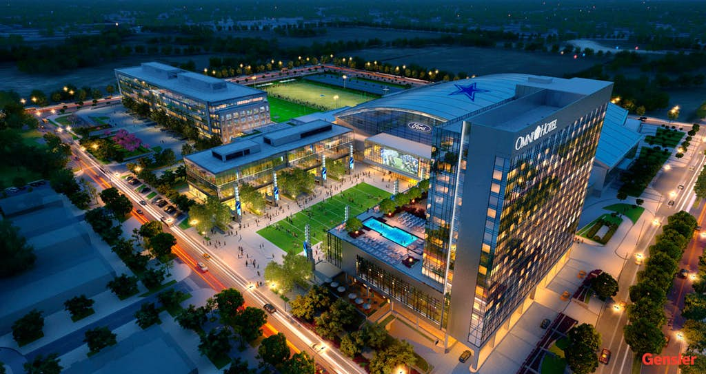 Omni Reveals Details Of New Frisco Hotel At Cowboys Hq Business Dallas News