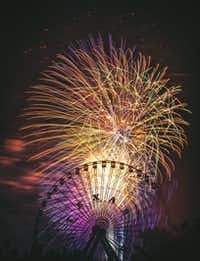 Voters' Choice selection: From David Worthington, Fourth of July with The Texas Star.(David Worthington)