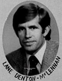 Lane Denton (Photo courtesy of the Legislative Reference Library).