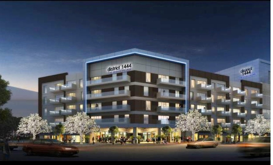 Dallas Design District Apartments developer harwood international working on design district