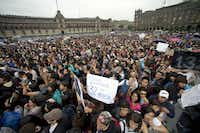 Thousands converged on Mexico City's Zócalo square on Saturday for a concert and rally in support of the #YoSoy132 movement. Some in the crowd were wary that the PRI's probable return to power might turn the movement into a summer of discontent. The movement is largely concentrated in urban centers, political observers say, so it's not clear what #YoSoy132's impact on the presidential election will be.