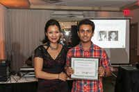 NAAAP-DFW scholarship winner Diwash Adhikari of Conrad High School.