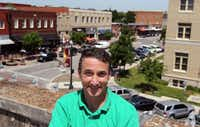 Hamilton Doak, owner of Orisons Art and Framing in McKinney and a vice chairman of the McKinney Arts Commission, hopes more public art will be coming to the city.