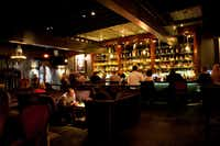 The Dram Cocktail Lounge at 2918 N Henderson Ave. at Miller in Dallas