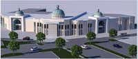 A rendering shows what the new 33,000-square-foot mosque will look like when completed. Leaders at East Plano Islamic Center hope the organization can move into the new facility by Ramadan 2015.Image courtesy of East Plano Islamic Center