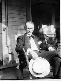 The author's great-grandfather, Ferd Ward (in 1911), was the Bernie Madoff of his day.