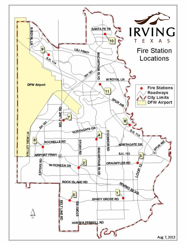 City Of Irving Map Irving's Blue Christmas toy and food drive runs through Dec. 20