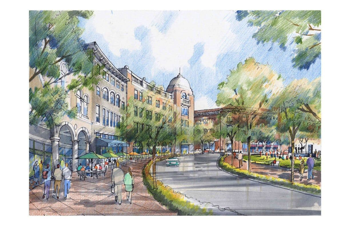 River Walk Concept Presented To Flower Mound Town Council