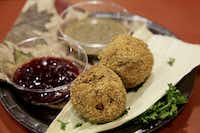Fried Thanksgiving Dinner was a contender at the Big Tex Choice Awards on Monday at Fair Park in Dallas.