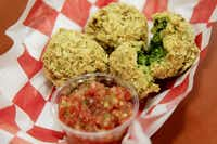 Spinach Dip Bites vied for the judges' praise at the Big Tex Choice Awards on Monday at Fair Park in Dallas.