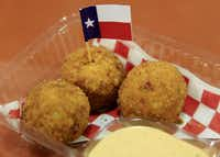 Texas Fried Fireball also made an appearance at the Big Tex Choice Awards.