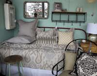 Vintage, modern, and antique furnishings and accessories are sold at Red, a home decor store in Fredericksburg.