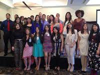 <TypographyTag13>The 2013-14 Future Leaders of Irving</TypographyTag13> take part in graduation ceremony at the Four Seasons.(Staff photo by DEBORAH FLECK - DMN)