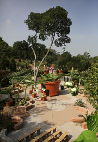 Photos Dallas Arboretum Unveils Rory Meyers Children 39 S Adventure Garden Dallas News Photo