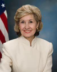 Kay Bailey Hutchison (Photo courtesy of U.S. Senate Historical Office).