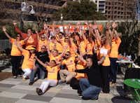 Live Happy celebrates International Day of Happiness at Klyde Warren Park in Dallas.Staff photo by DEBORAH FLECK - DMN