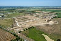 The 1,100-acre Harvest development will have room for 3,000 homes, apartments and other buildings.