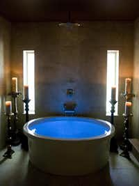 The hydrotherapy tub with Vichy shower head can be enjoyed before treatments or after personal training sessions at The Havens Spa.Joyce Marshall  - Telegram