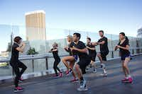Trump's unique boot camp runs every Friday at 7:30 am along The Strip in Las Vegas.