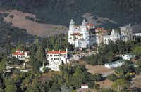 "This Oct. 23, 2006 photo shows ""La Cuesta Encantada,"" The Enchanted Hill, the legendary home now best known as Hearst Castle, built by publishing tycoon William Randolph Hearst in San Simeon, Calif."