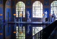 The path back to the bus takes you through the stunning indoor Roman pool, its blue-and-yellow mosaic tiles accented by marble statues, standing lamps and the occasional sunbeam through a skylight.