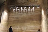On the lowest level of Hobart's Museum of Old and New Art ,is a towering installation by Julius Popp, which employs jets of water to form words that have been randomly generated from the Internet. The museum, which opened in 2011, has helped to put Hobart on the world cultural map.