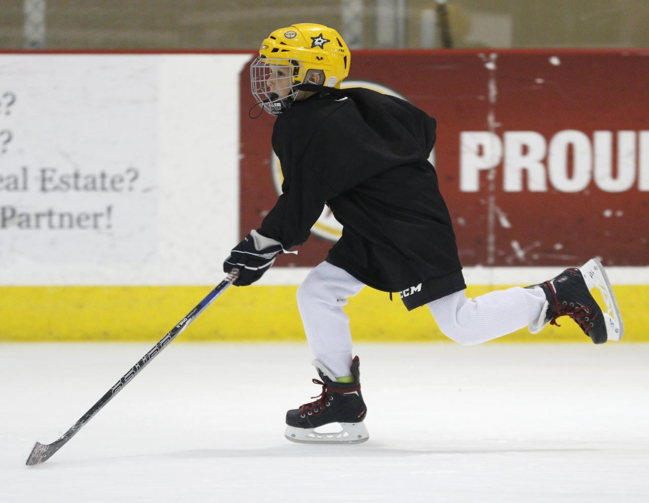In Allen, more kids are going from the gridiron to the rink, with help from  figure skaters | Allen | Dallas News