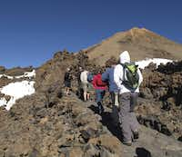"""For a """"peak"""" experience, head to the top of Mount Teide, a dormant volcano on Tenerife, off the coast of Morocco. To obtain a summit permit, visit www.reservasparquesnacionales.es. For information on taking a cable car, which deposits you closer to the peak, visit www.telefericoteide.com."""