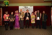 OCA-DFW presented several awards at its Lunar New Year Banquet at Maxim's Restaurant in Richardson.( Jarvis Jacobs )