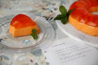 Creamsicle Ice Cream Jell-O mold(Rose Baca - Staff Photographer)