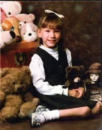 Jessica McClure, shown in this portrait at age 6, remembered little of the accident and dramatic rescue.