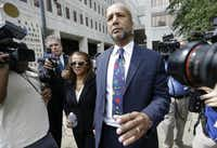 Former New Orleans Mayor Ray Nagin, who moved to the Dallas area with his family after his last term ended in 2010, was sentenced in July to 10 years in federal prison for bribery, money laundering and other corruption. He's to report Sept. 8 for incarceration in Texarkana, Texas.(Gerald Herbert - The Associated Press)