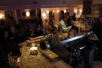 The bar at The Kessler Theater