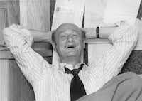 Ed Koch in the office of his campaign manager, David Garth, September 1977. As seen in KOCH, a film by Neil Barsky.
