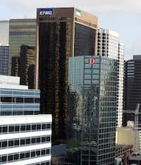 World Class Capital Group is spending more than $80 million on the former KPMG Center at 717 N. Harwood. (David Woo/The Dallas Morning News)
