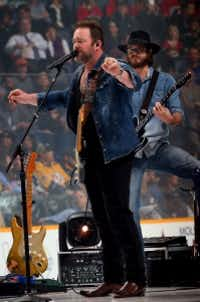 Country music singer and songwriter Lee Brice, who performed during the 2016 Honda NHL All-Star Game in January in Nashville, Tenn., will be performing as part of the Toyota Texas Fest in May. (Photo by Bruce Bennett/Getty Images)