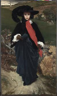 Frederic Leighton, British (1830?1896) May Sartoris, c. 1860 Oil on canvas;  Acquired in 1964