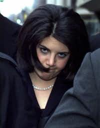 Monica Lewinsky in Washington. (1999 File Photo/The Associated Press)