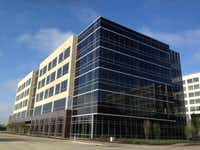 Lincoln Property's new Legacy business park office building contains more than 130,000 square feet.(Steve Brown - Staff)
