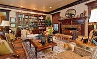 Another view of one of the home's living areas.(Steve Reed)