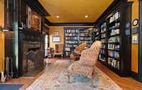 The home has a spacious Library/Study room.Steve Reed