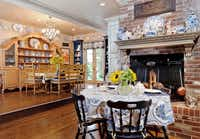 The home has plenty of space, here are two of its dining areas.(Steve Reed)