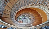 The home has a winding staircase that leads to the third floor.Steve Reed