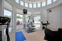 Get in shape in the home's very own gym.(Dave Perry-Miller & Associates)